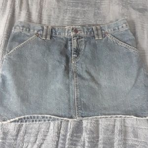 Size 10 Denim Mini Skirt